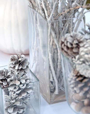 pine cones winter wedding centerpieces ideas for 2015