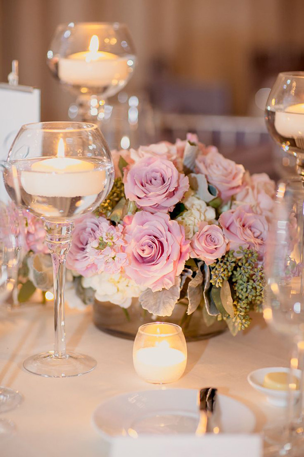 16 Stunning Floating Wedding Centerpiece Ideas ...