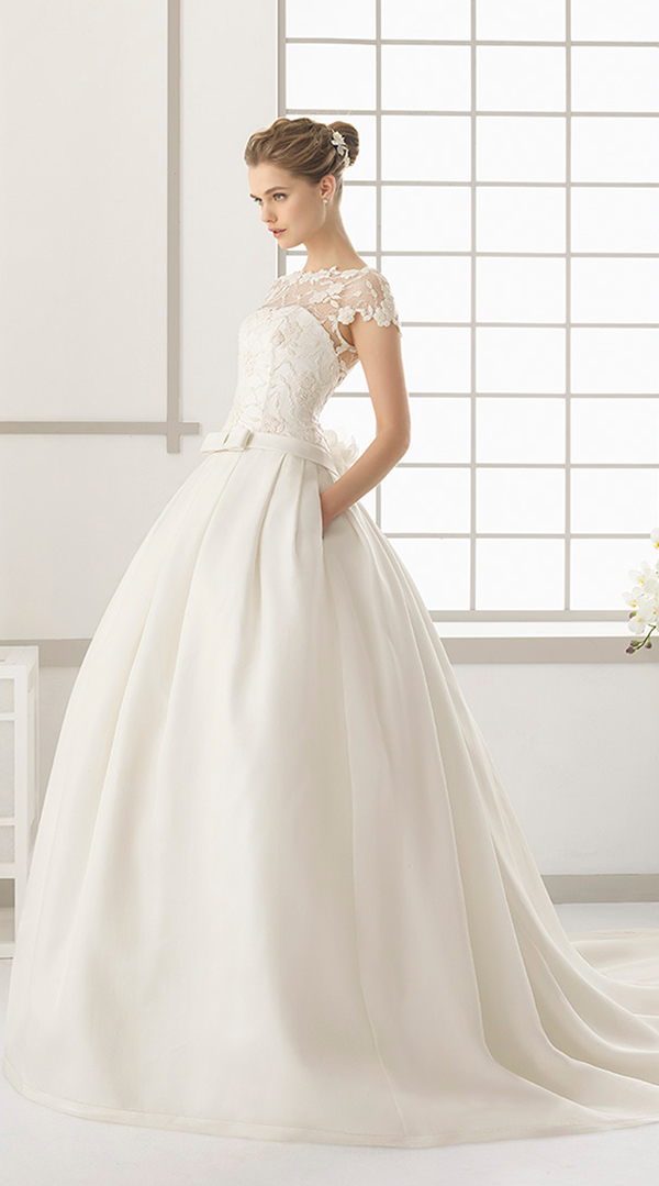 rosa clara dallas 2016 wedding dresses ball gown with lace