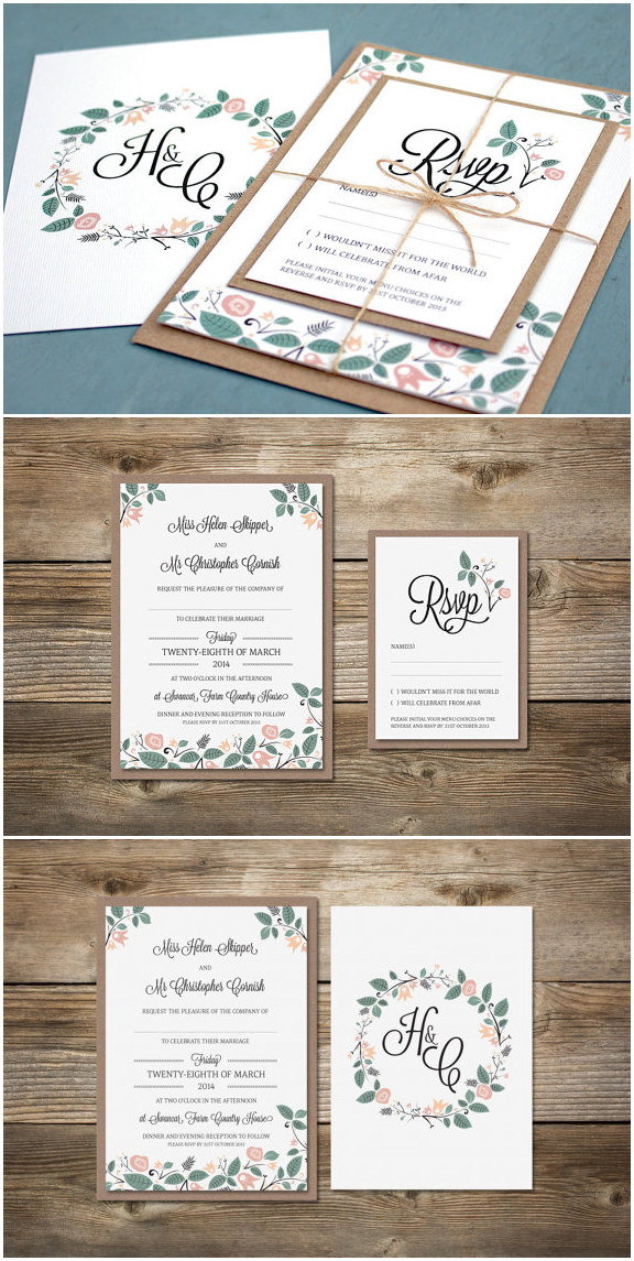 Top 10 Rustic Wedding Invitations to WOW Your Guests ...