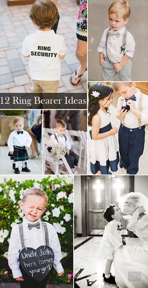 12 unique wedding ideas with ring bearer elegantweddinginvites top 12 unique wedding ring bearer ideas for your big day junglespirit Choice Image