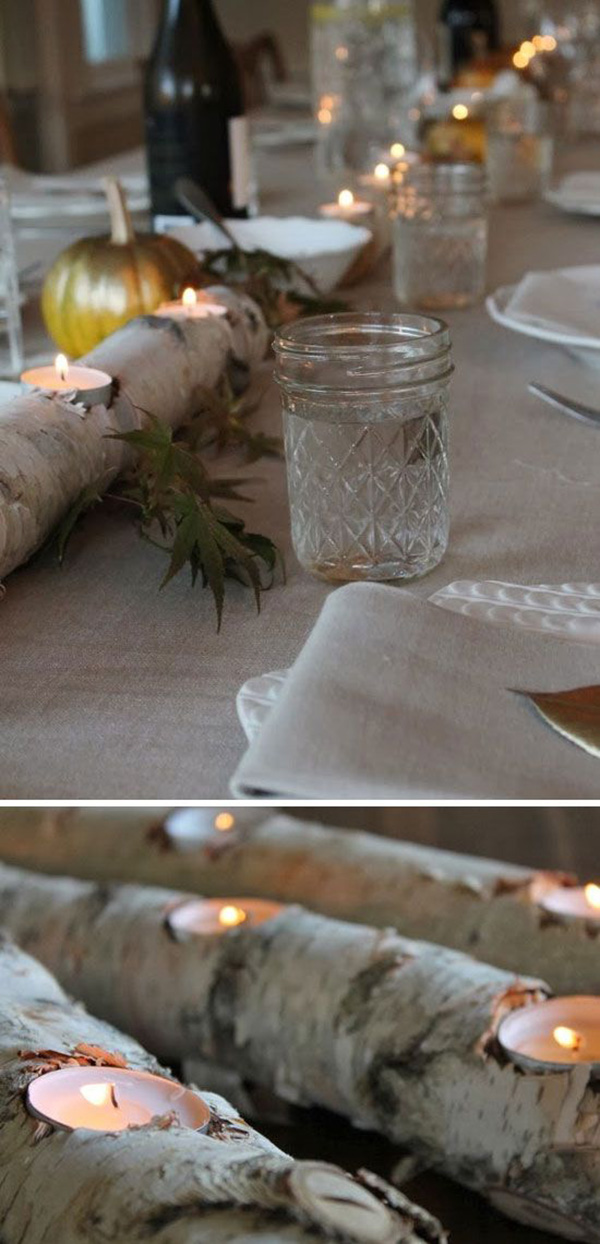 woodland themed rustic diy winter wedding reception ideas