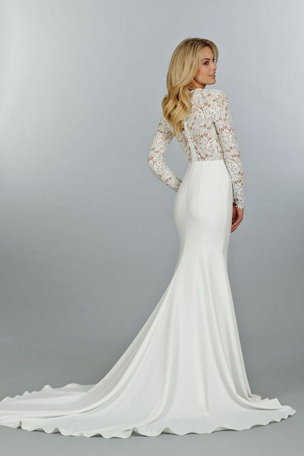 Ridiculously Stunning Long Sleeved Wedding Dresses