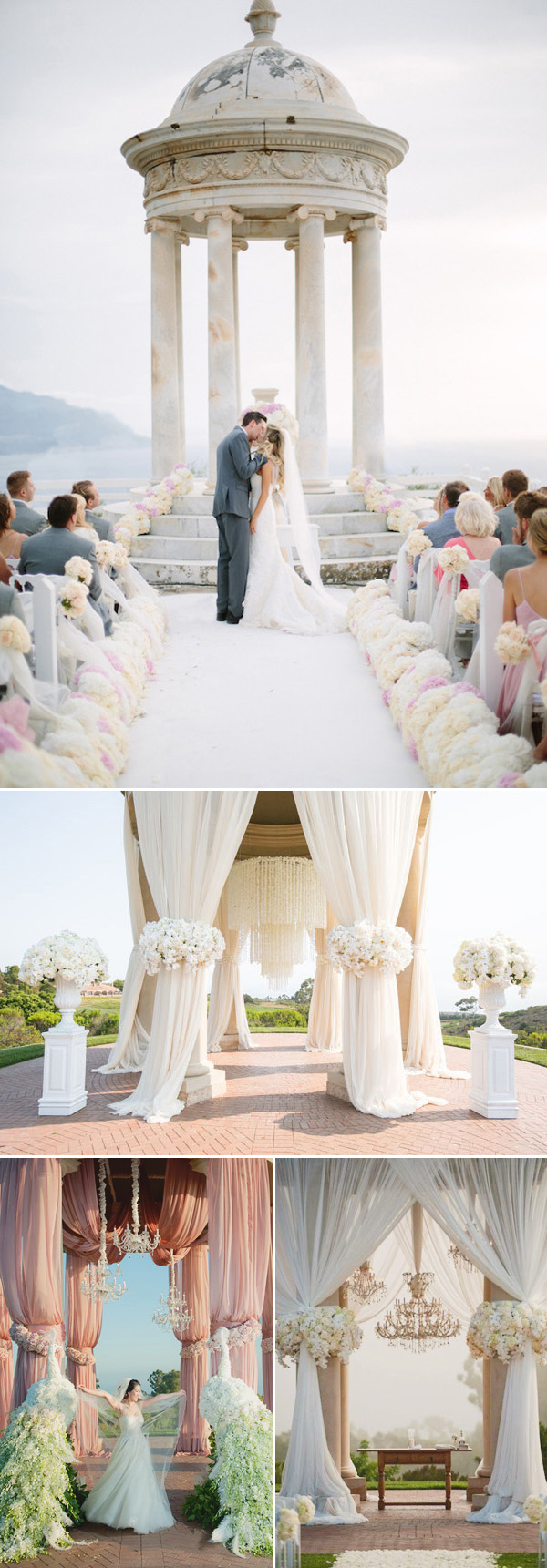 altar wedding decorations 30 eye catching wedding altars for wedding ceremony ideas 1271