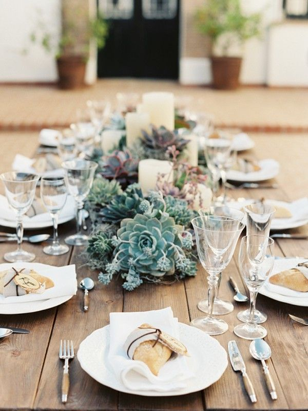 country rustic wedding ideas with succulents