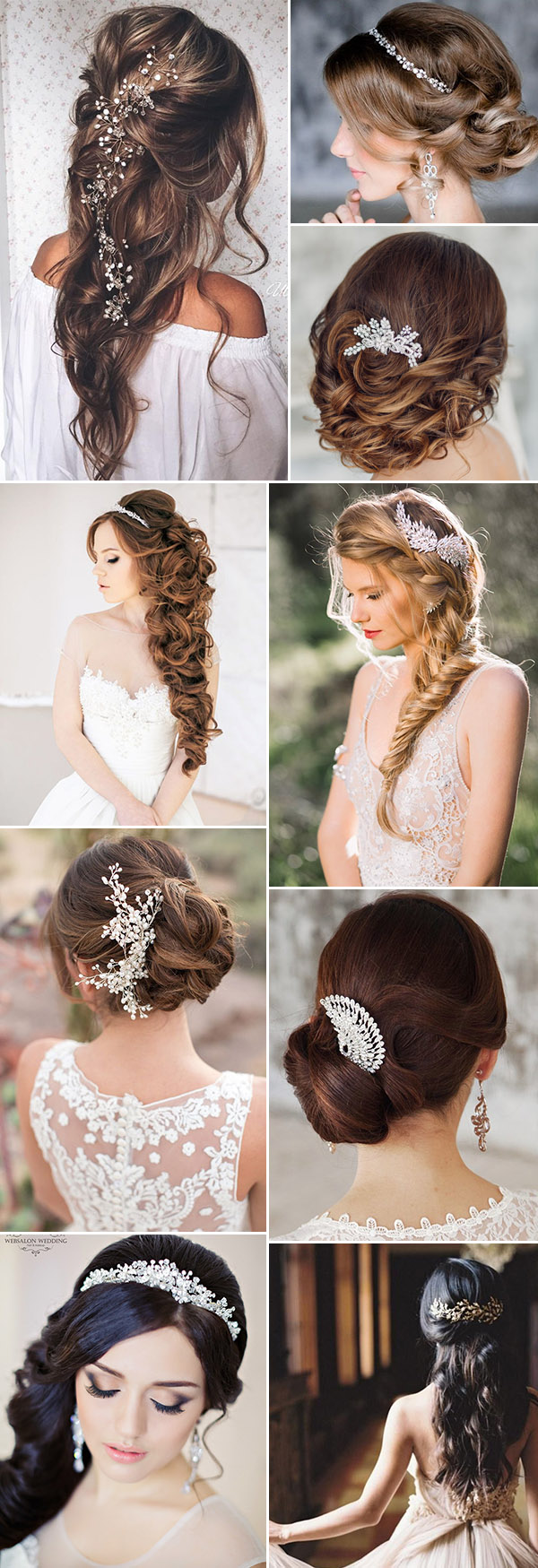 Vintage pearl bridal blog real brides news amp updates wedding - Gorgeous Wedding Hairstyles With Bridal Headpieces And Wedding Hair Accessories