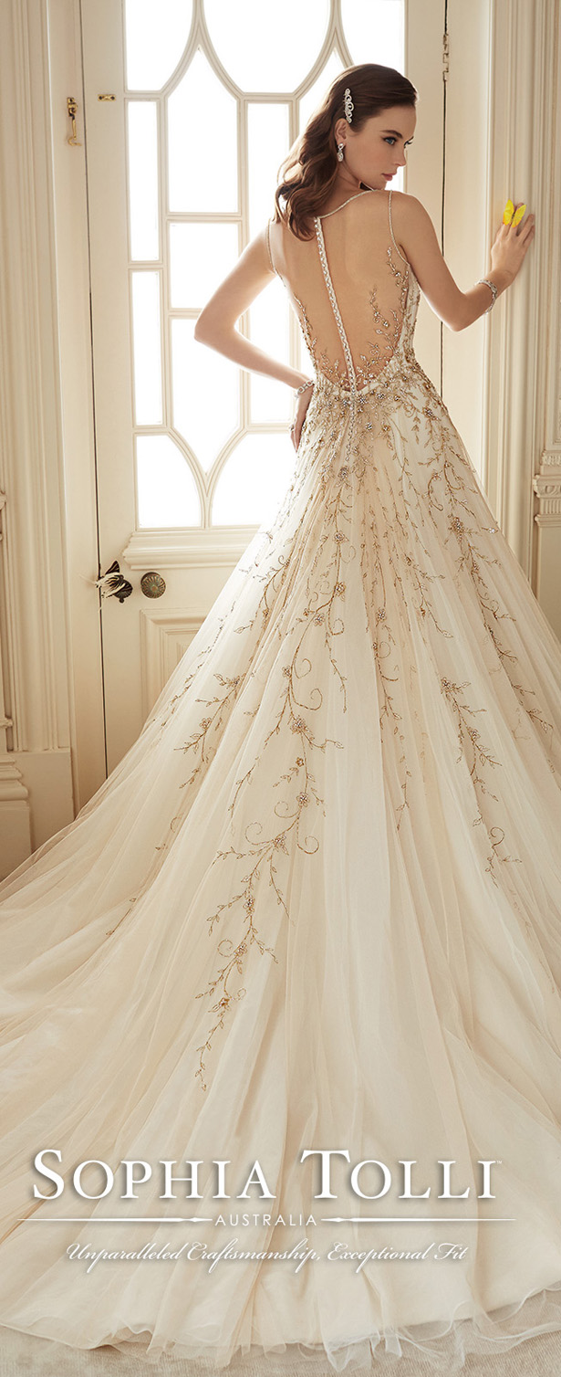 Sophia Tolli Wedding Dresses Spring 2016 Bridal Collection ...