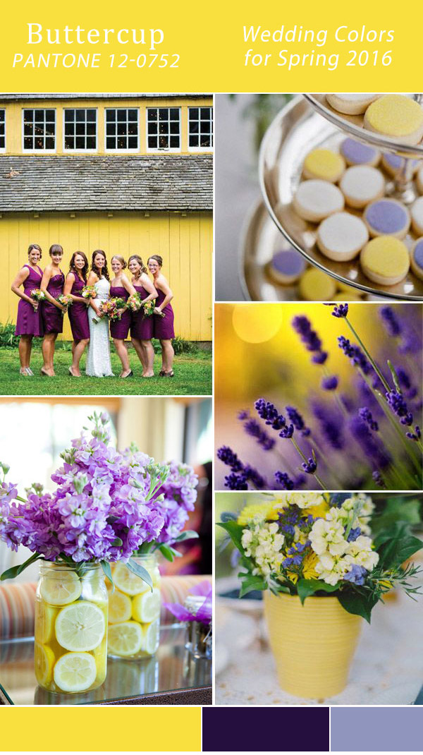 Top 10 Wedding Colors for Spring 2016 Trends from Pantone ...