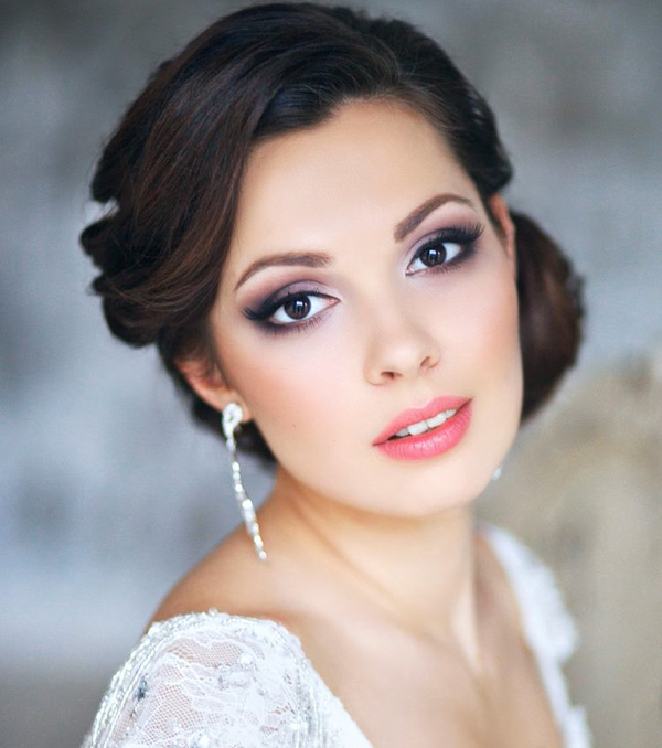31 Gorgeous Wedding Makeup Hairstyle