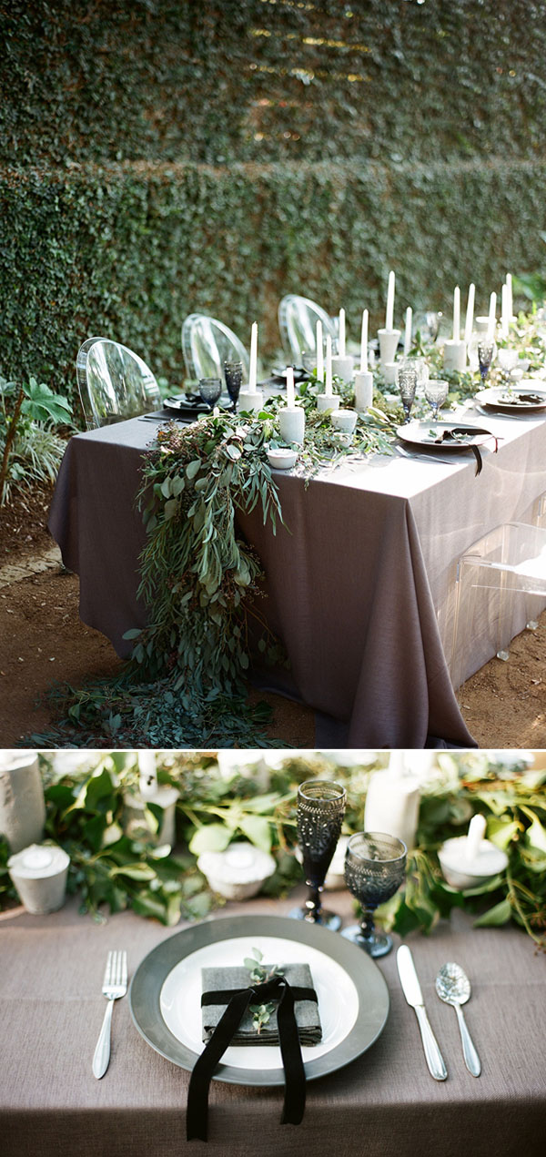 classic black and white wedding inspiration