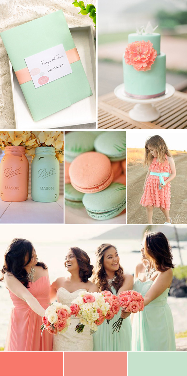 2016 Spring Wedding Color Trends Chapter Two:Stunning ...