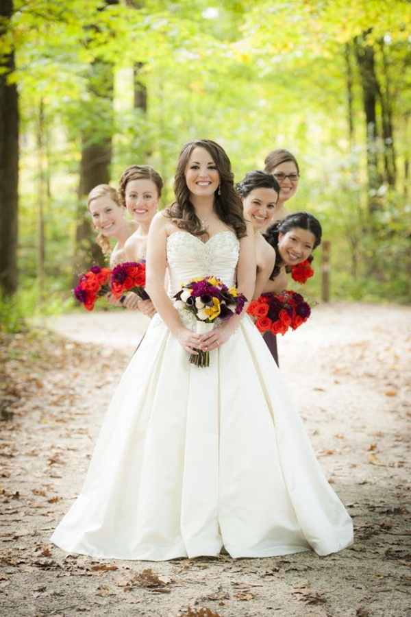 elegant rustic fall wedding photo ideas