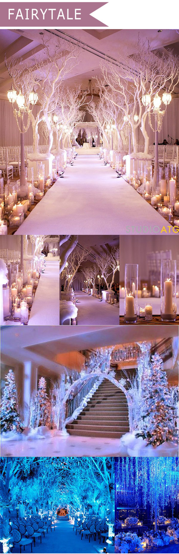 10 trending wedding theme ideas for 2016 elegantweddinginvites fairytale themed wedding decoration ideas for 2016 trends junglespirit Choice Image