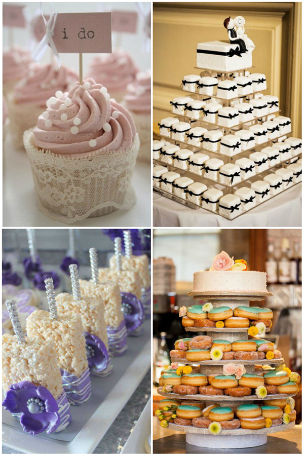 24 Yummy Wedding Desserts That You Can't Miss