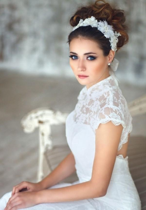 perfect eyebrow makeup ideas and gorgeous hairstyles for all brides