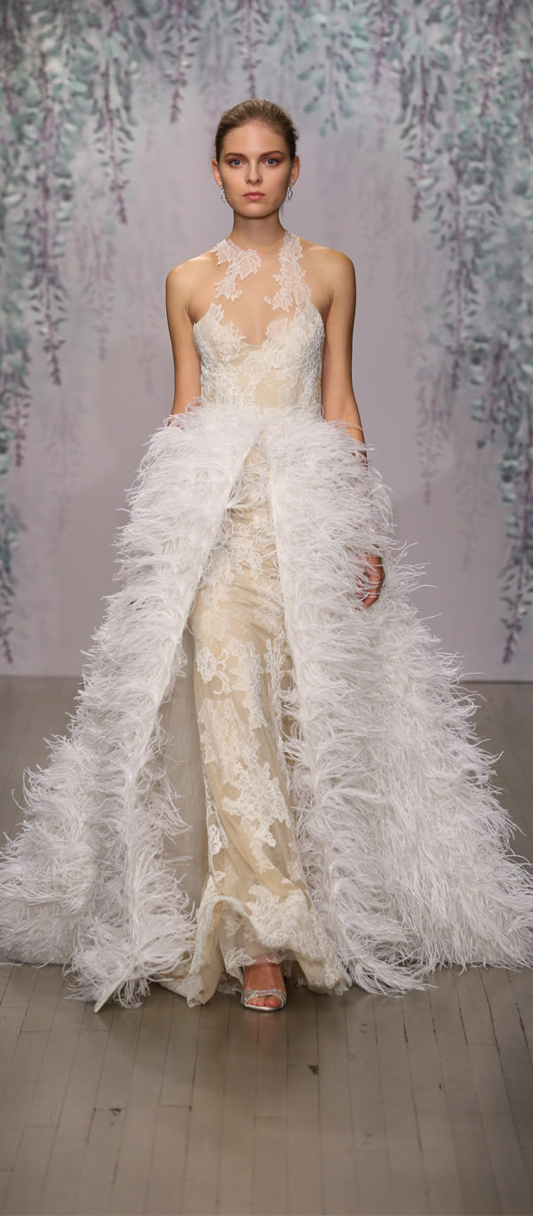 Monique Lhuillier Wedding Dresses Fall 2016 Collection