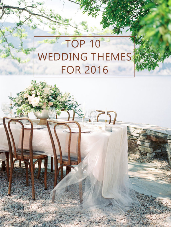10 Trending Wedding Theme Ideas for 2016 ...