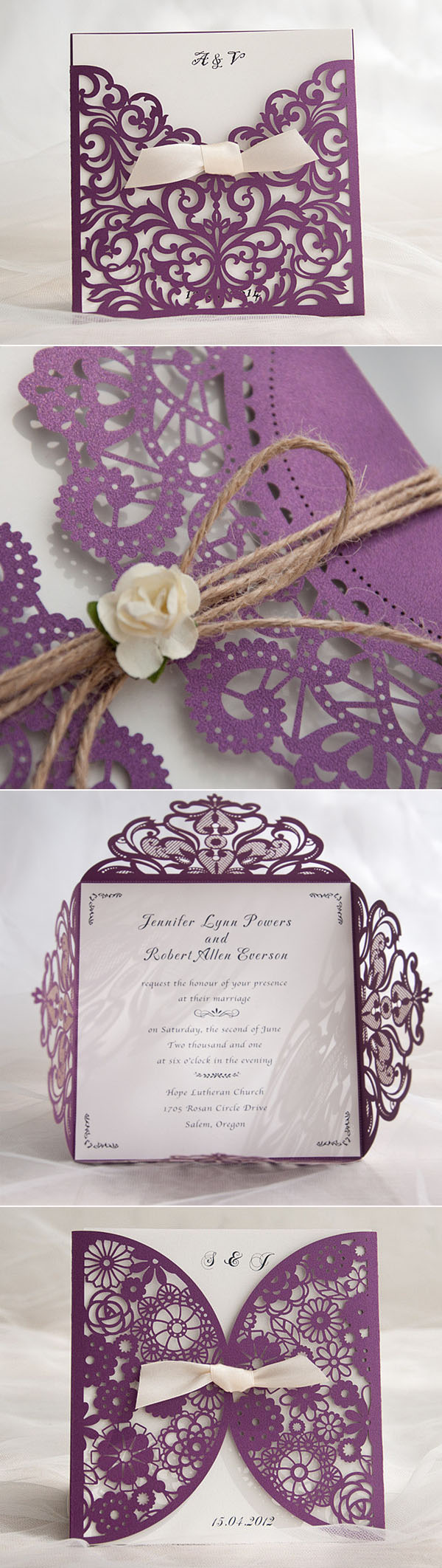 10 hottest wedding invitation trends for 2016 for Laser cut wedding invitations in chennai