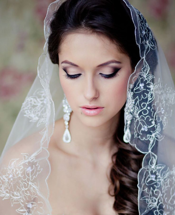 amazing wedding veil ideas for different bridal hairstyles