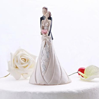 cheap wedding gift for new couple cake topper