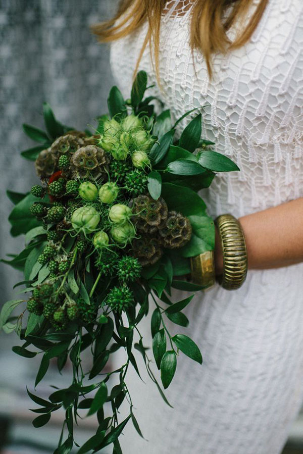 gorgeous greenery bridal bouquets