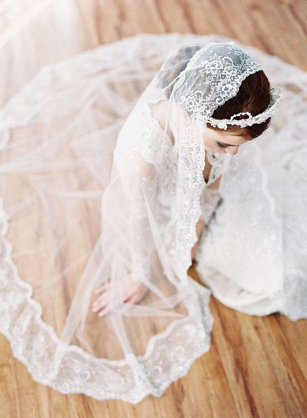 gorgeous wedding photo ideas for all brides with veils