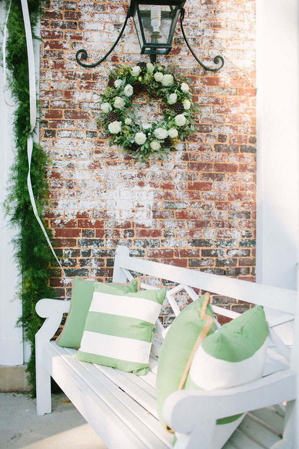 green and greenery wedding ideas