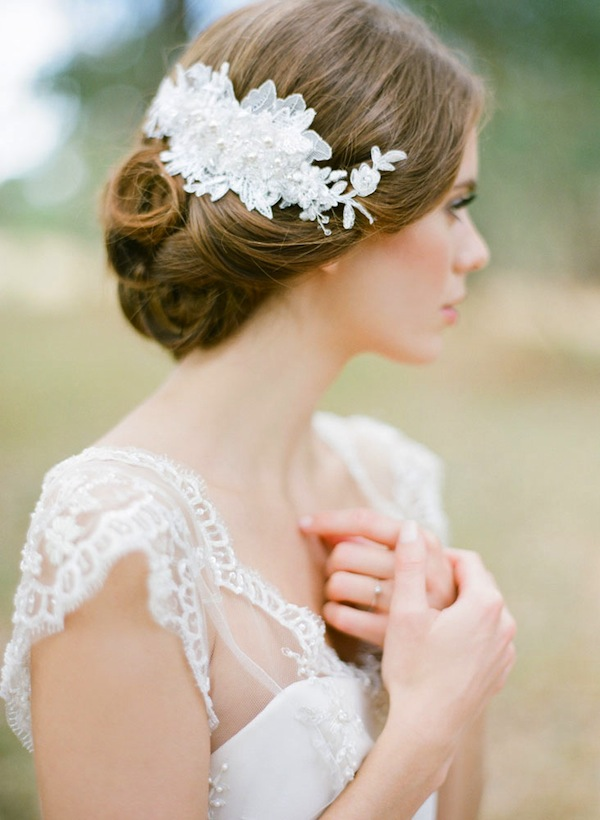 25 Prettiest Lace Bridal Hairpieces Headpieces For Your Wedding
