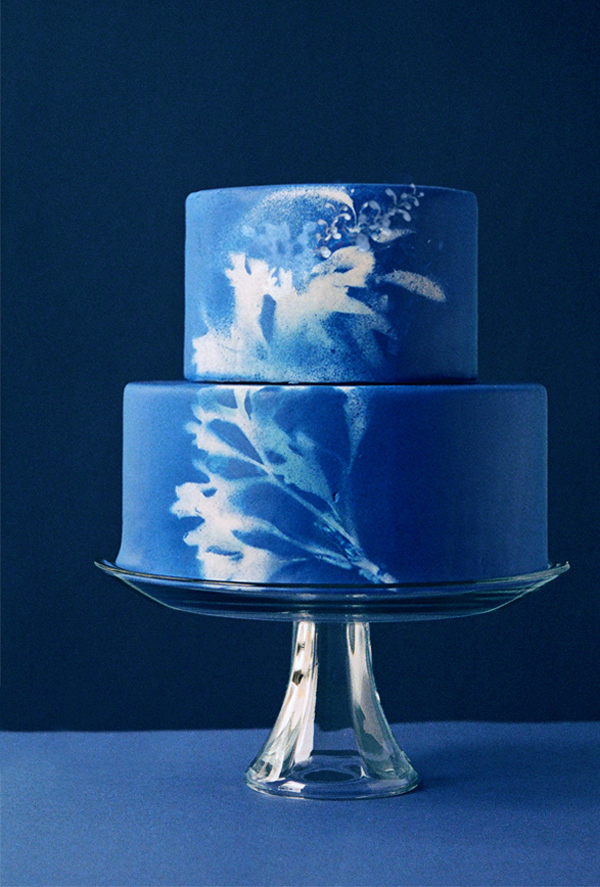 painted watercolor wedding cake ideas