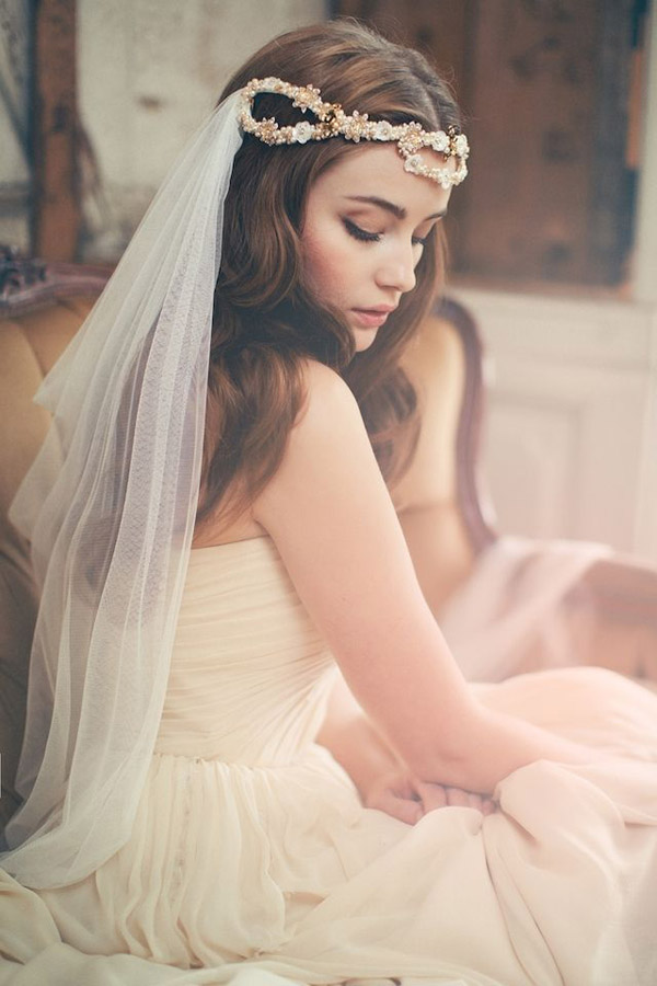 romantic wedding veils