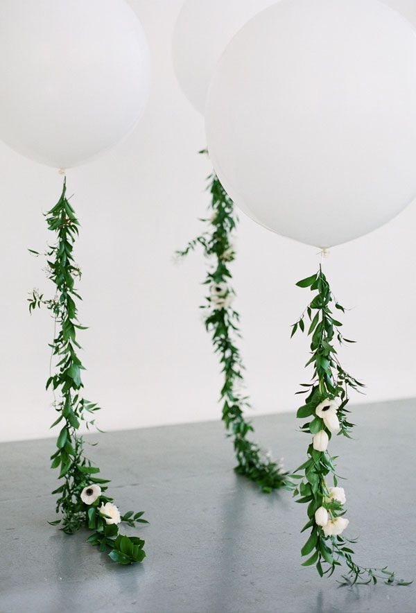 DIY romantic and green wedding decoration ideas