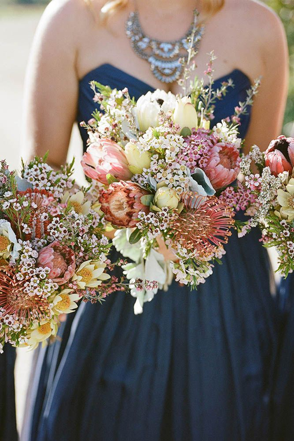 Fall Wedding Bouquets For Autumn Brides