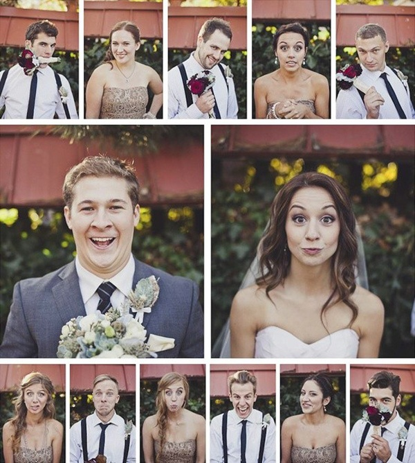 To Make Your Wedding Unforgettable: 30 Super Fun Wedding Photo Ideas ...