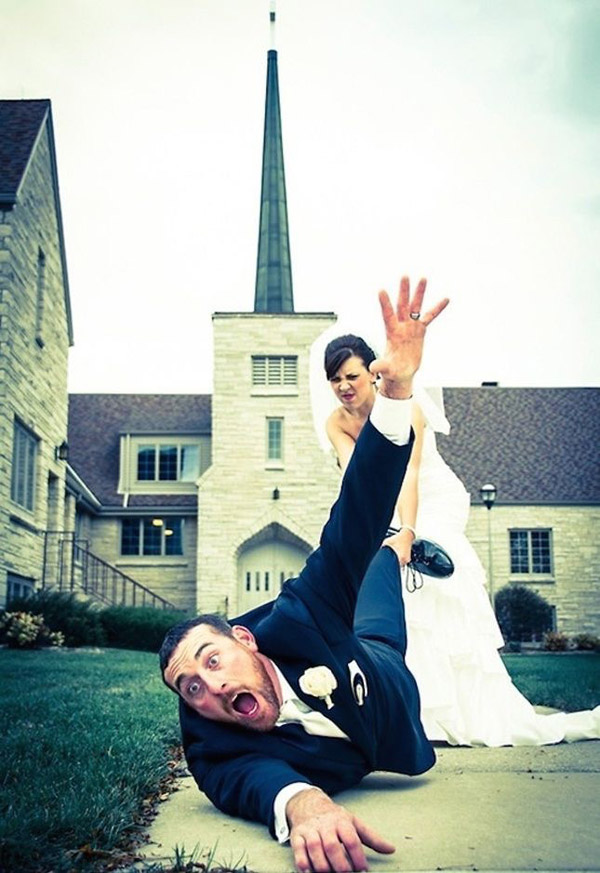 The funniest weding photo ideas for your big day