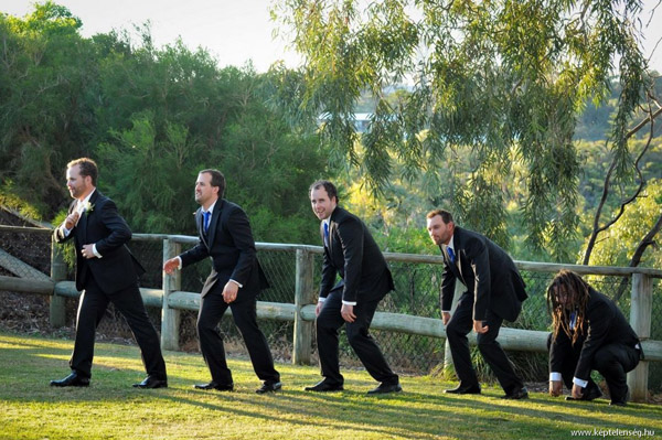 a great selection of funny wedding photos for your big day