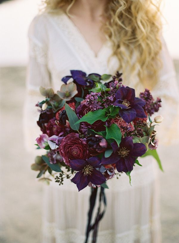 26 Most Gorgeous Jewel-toned Wedding Bouquets ...