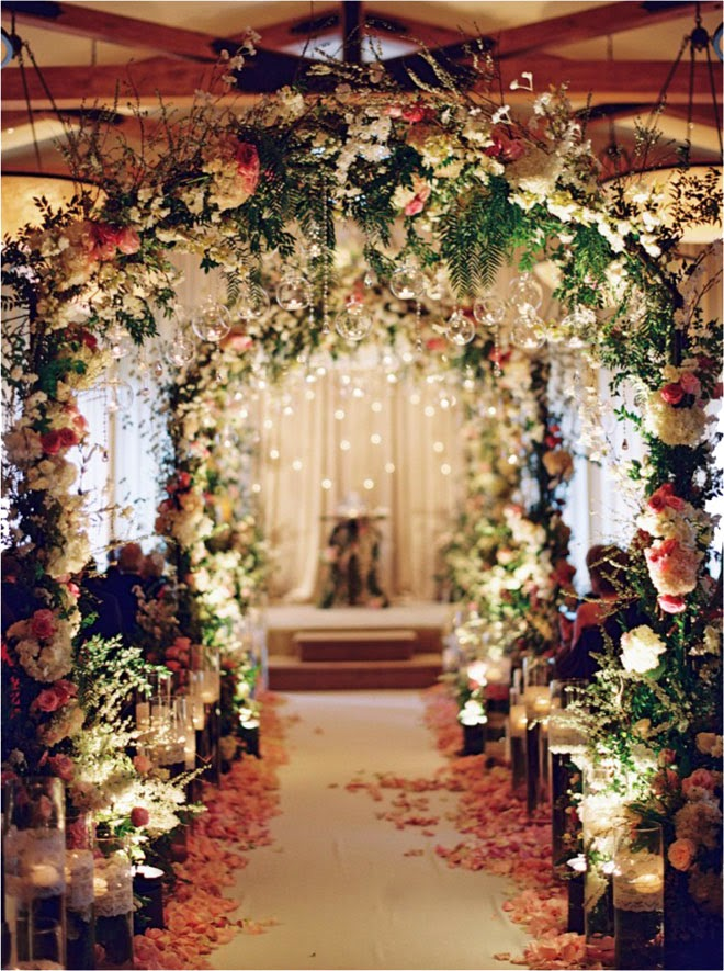 Gorgeous Fairytale Wedding Ceremony Decoration Ideas