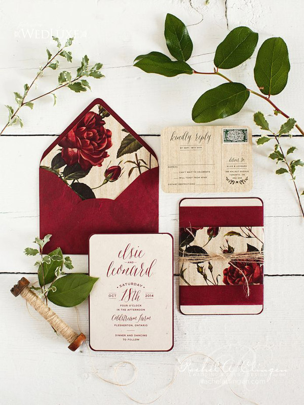 25 Attractive Vintage Wedding Invitations for Nostalgic Brides ...