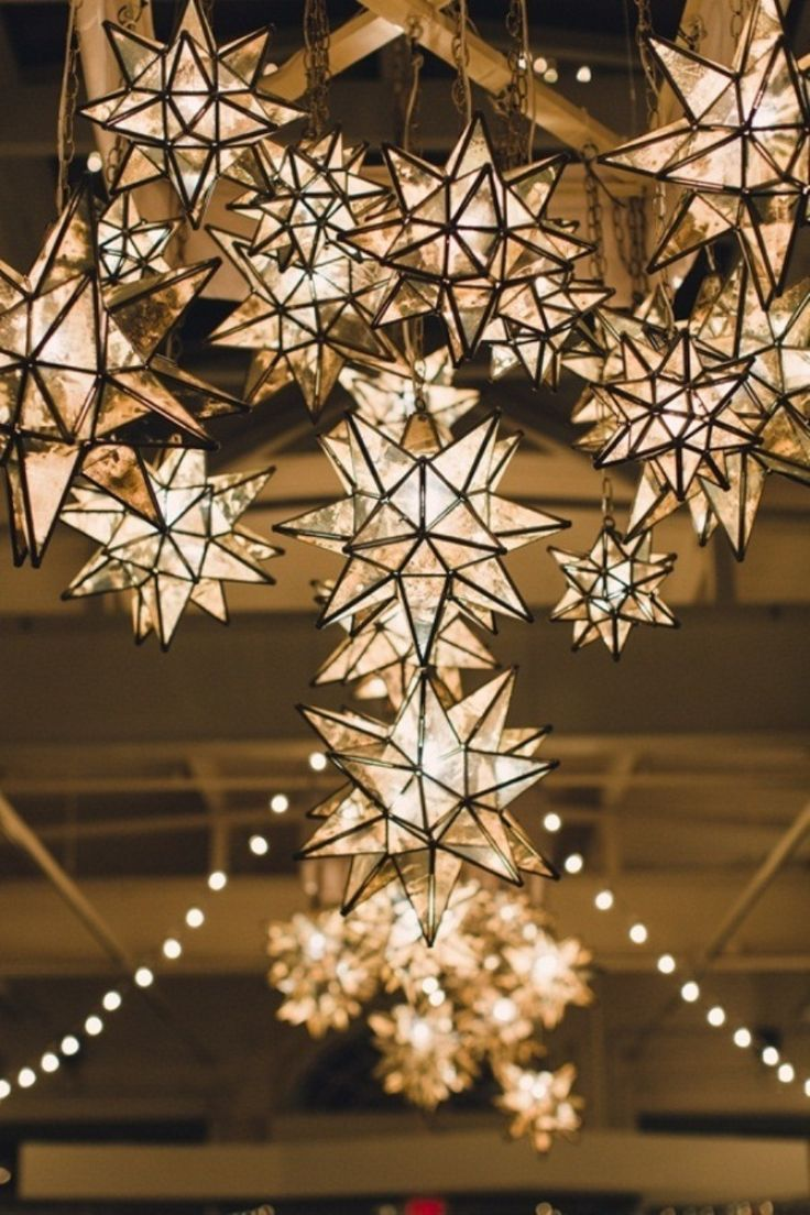 magnificent light decor to add a luxurious touch to your starry night weddings