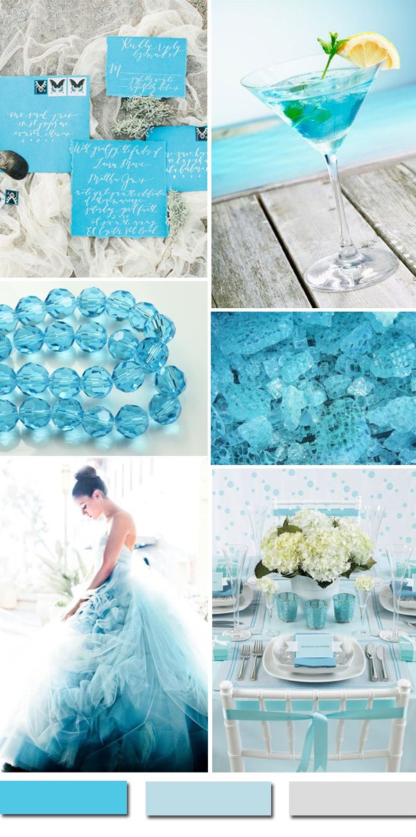 Awesome Blue Wedding Color Ideas & Wedding Invitations to Have in ...