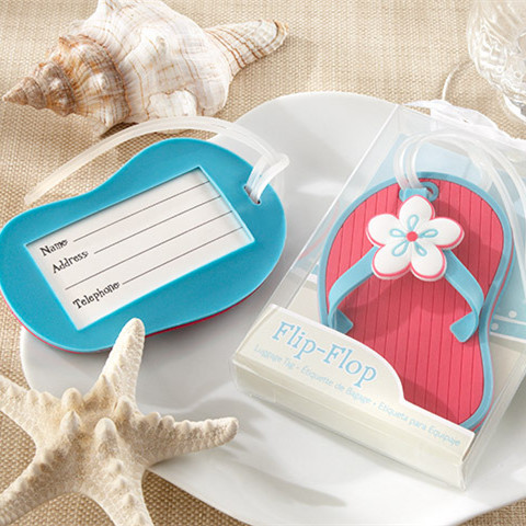 pretty-blue-and-coral-flip-flop-luggage-tag-beach-wedding-favors-EWFU0041