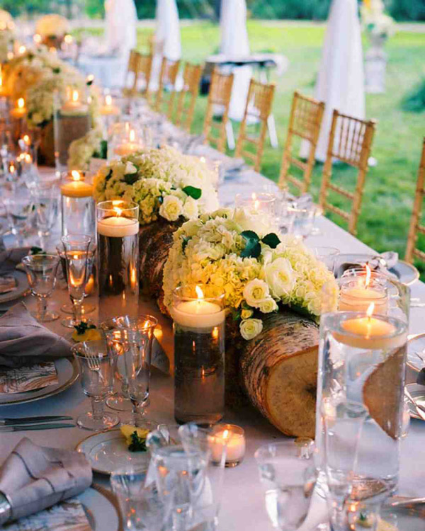42 cool camo wedding ideas for country style enthusiasts rustic camo wedding table centerpieces ideas junglespirit Choice Image