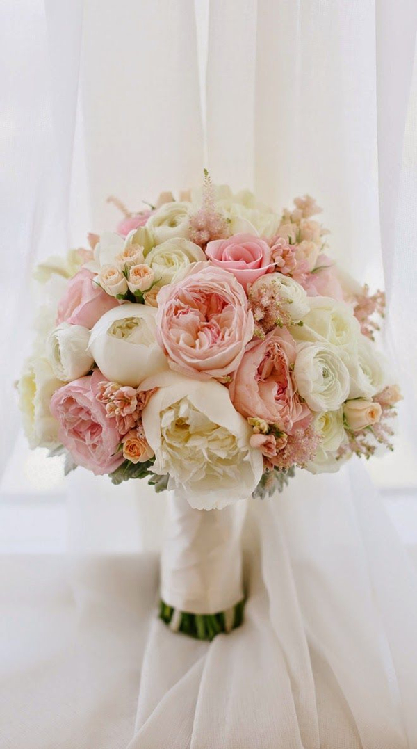 29 eye catching wedding bouquets ideas for 2016 spring soft and ethereal peony spring wedding bouquet mightylinksfo