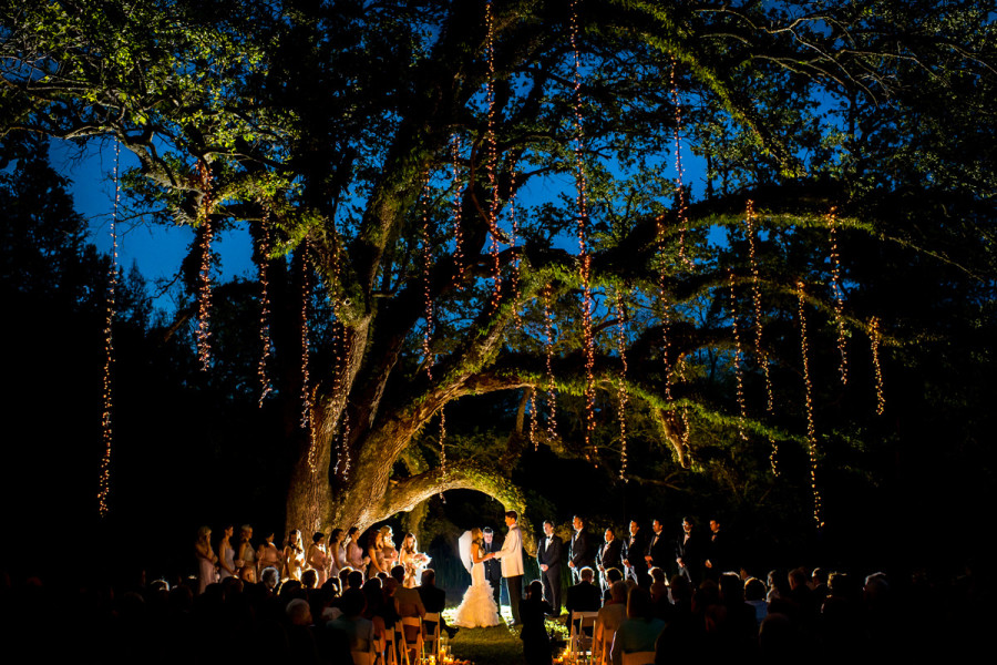 Awesome Stunning String Light Wedding Backdrops