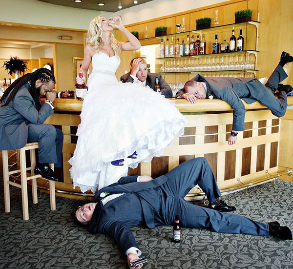 wedding photo ideas that will make you laugh