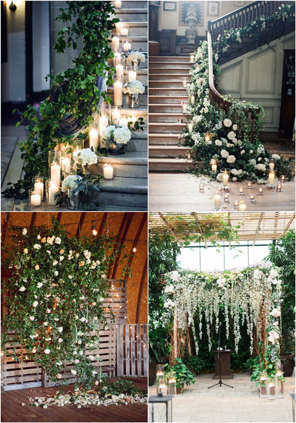 awesome cascading floral wedding decoration ideas you may love