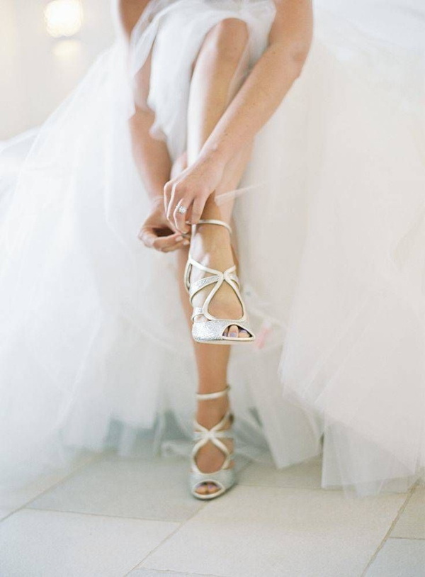 beautiful studded wedding shoes that wow