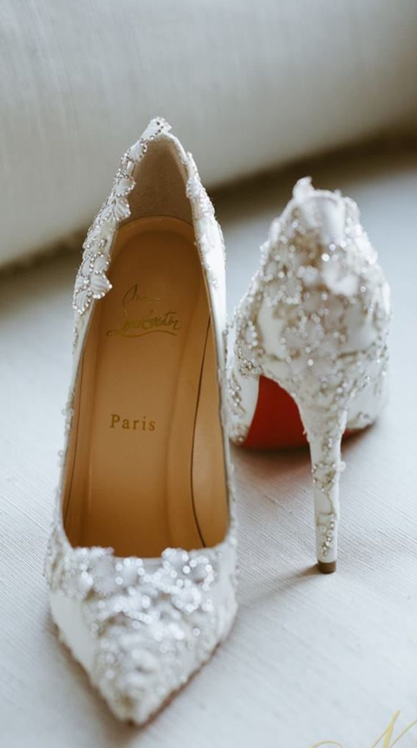 aec7b8d9863 20 Most Wanted Wedding Shoes For Stylish Brides ...