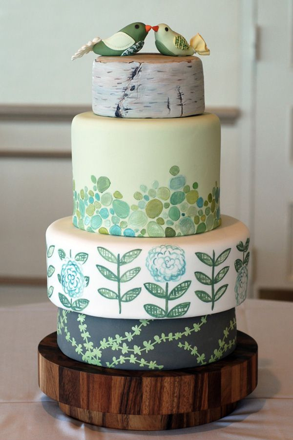 Spring Wedding Cakes Pinterest