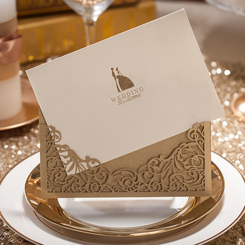 elegant-metallic-brown-laser-cut-wedding-invitation-EWWS007